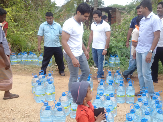 Colombo Trading International - CSR Projects - Water Donation Project