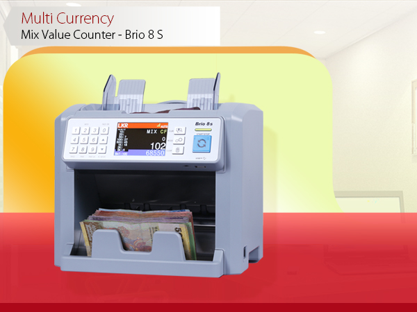 Colombo Trading International - 8 S Cash Counting Machines and Banknote Machines Suppliers in Sri Lanka - Sorting and Non-stop counting with reject pocket