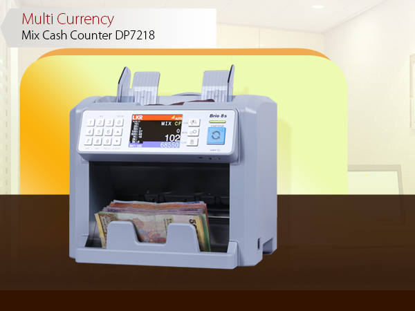 Colombo Trading International - DP7218 Cash Counting Machines and Banknote Machines Suppliers in Sri Lanka - Sorting and Non-stop counting with reject pocket