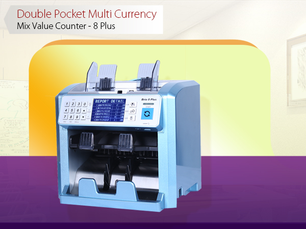 Colombo Trading International - 8 Plus Cash Counting Machines and Banknote Machines Suppliers in Sri Lanka - Sorting and Non-stop counting with reject pocket