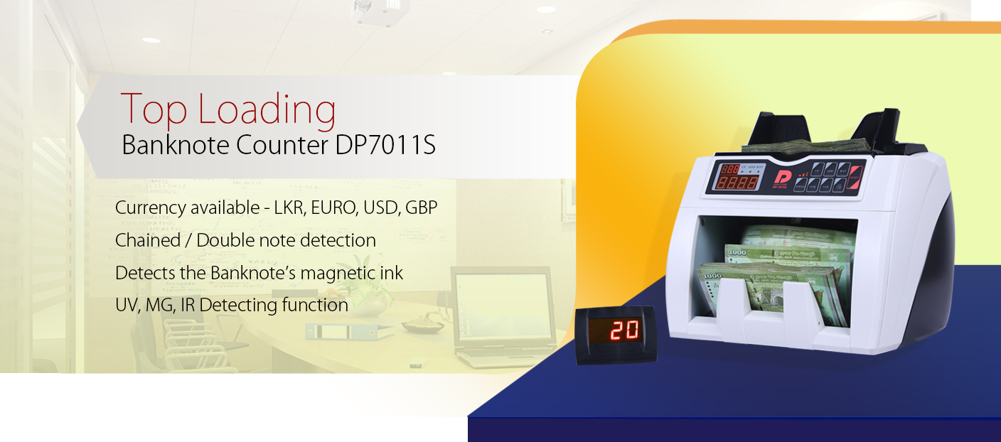 Colombo Trading International - DP7011S Cash Counting Machines and Banknote Machines Suppliers in Sri Lanka