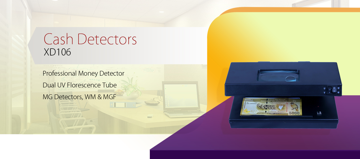 XD-106 Currency Detectors or Money Detectors Machines Systems Suppliers in Sri Lanka - Images